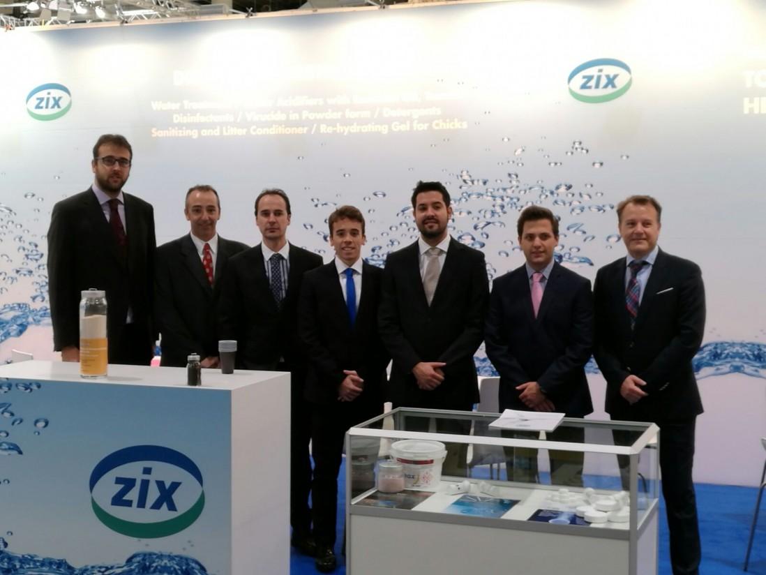 Biocidas Biodegradables ZIX presentó sus novedades en Eurotier
