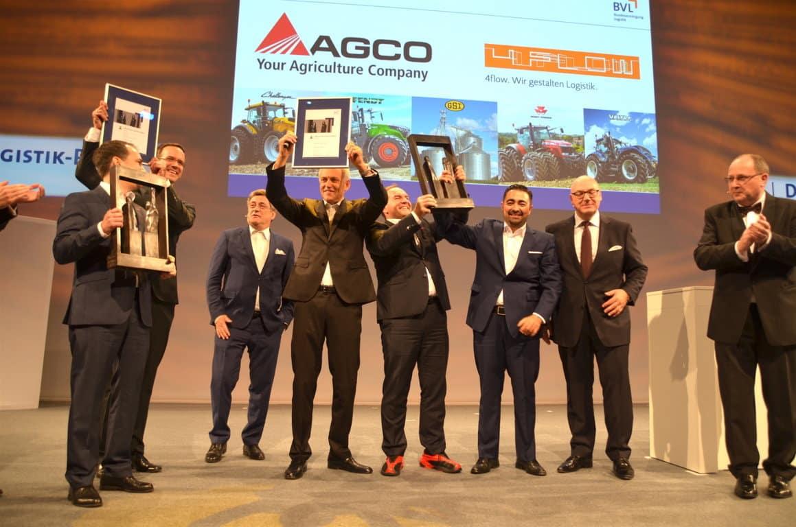 Agco, premio por su sistema de gestión de cadenas de suministro 'Agco Smart Logistics'