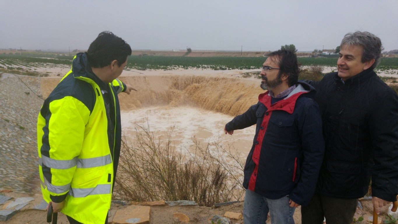 El temporal de lluvias y las inundaciones traen cuantiosas pérdidas a cultivos e infraestructuras del Levante
