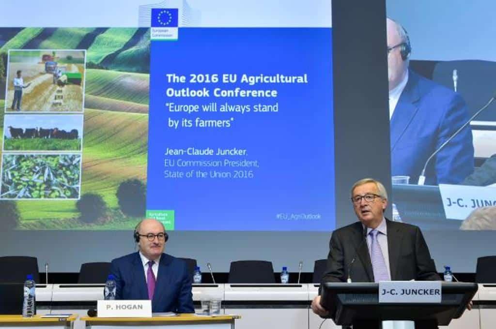 Juncker anuncia una Comunicación sobre el futuro de la PAC antes de final de 2017