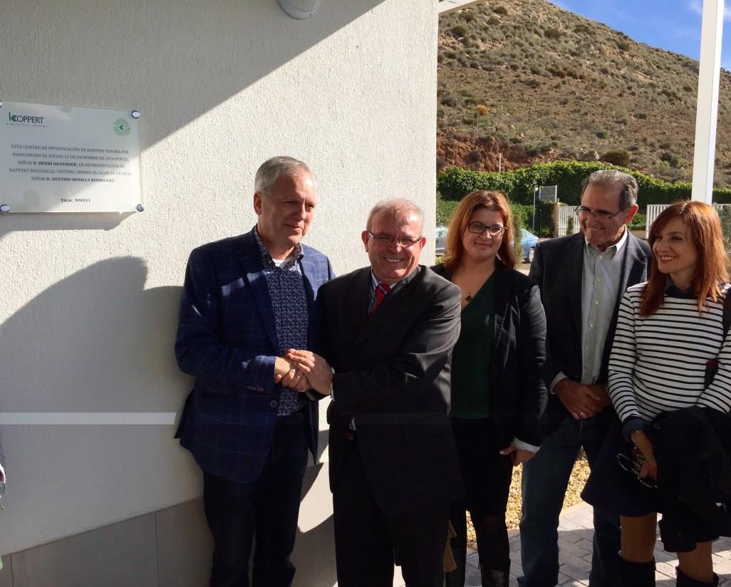 Koppert investigará en Almería la nueva generación de soluciones naturales para la agricultura