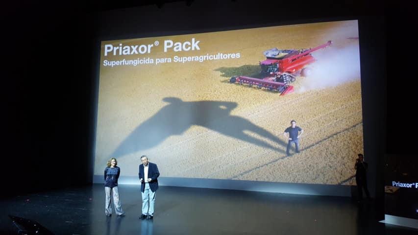 Basf presenta en Sevilla el nuevo fungicida para cereal Priaxor Pack