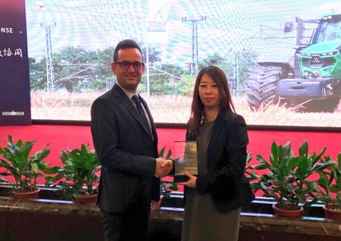 Deutz-Fahr China nombra a Trelleborg Proveedor Excelente 2016