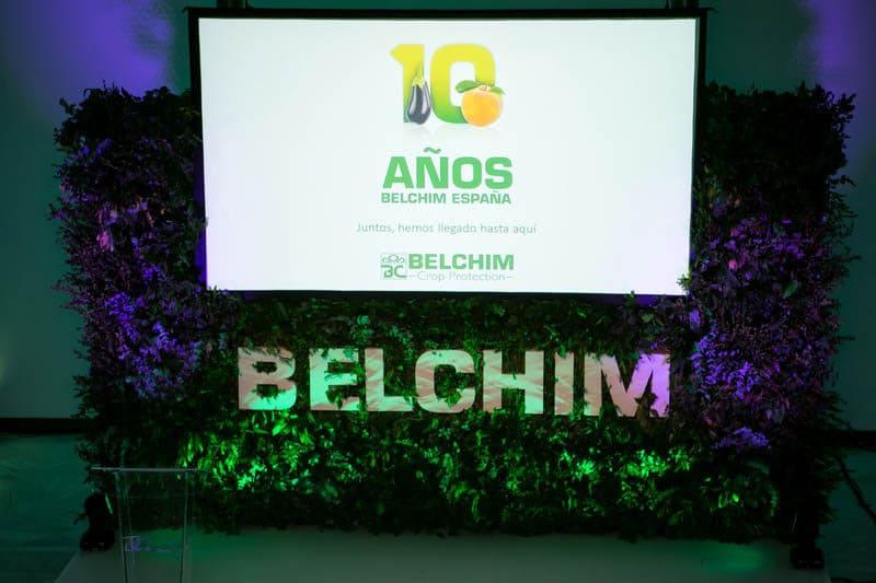 Belchim celebra sus 10 años en España