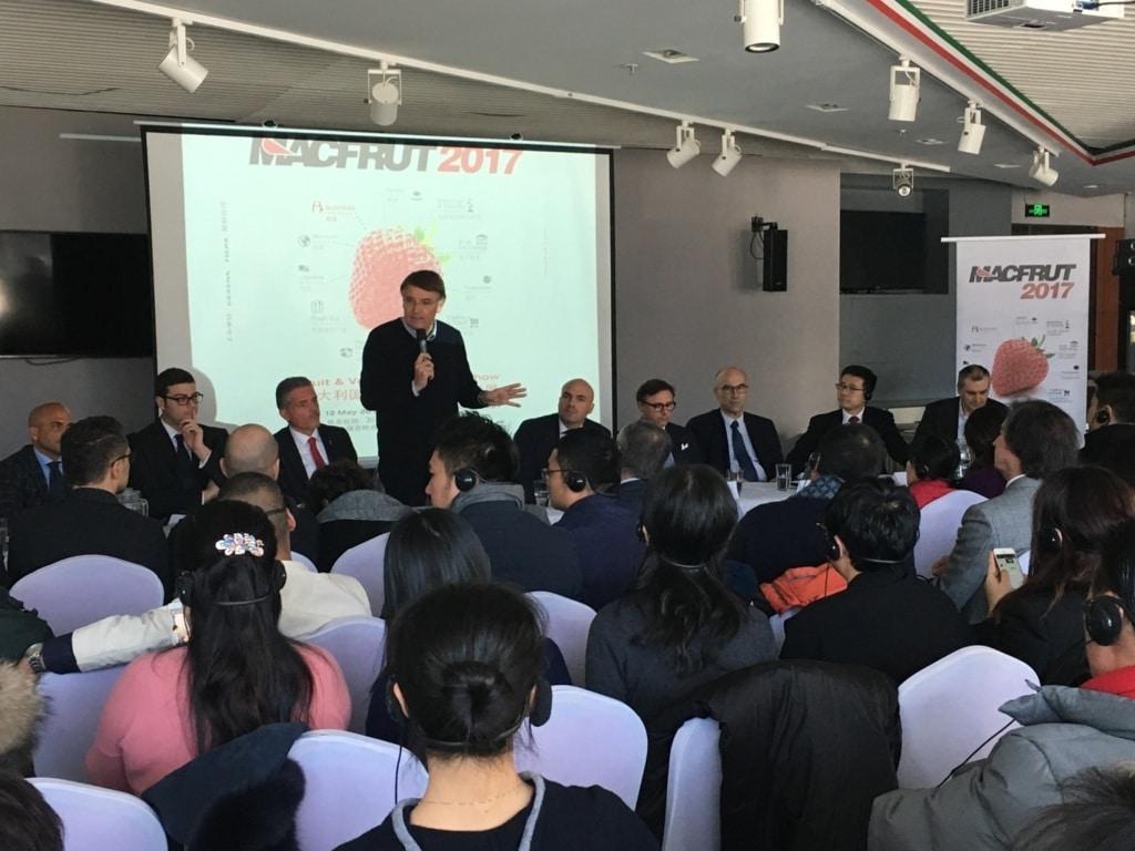 Macfrut 2017, el roadshow internacional llega a China