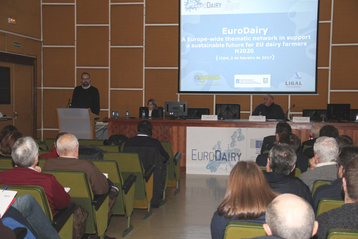 AGACA presenta EuroDairy, una red europea para el progreso del sector lácteo en Europa