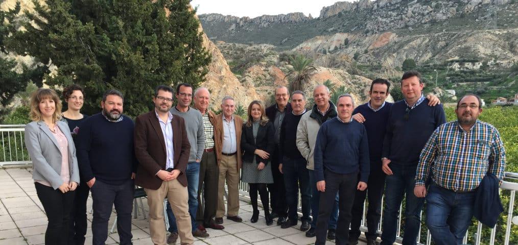 El II Congreso Nacional de Fruta de Hueso arranca con la reunión del Comité Científico y Organizador