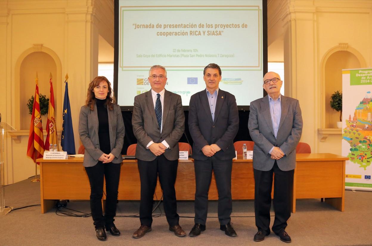 La Alianza Agroalimentaria Aragonesa impulsa dos proyectos de cooperación basados en la transferencia de conocimiento