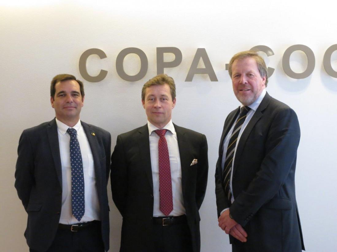 El COPA-Cogeca avanza una producción estable de 296,6 Mt cereales en la UE-28 este año, pero mirando al clima