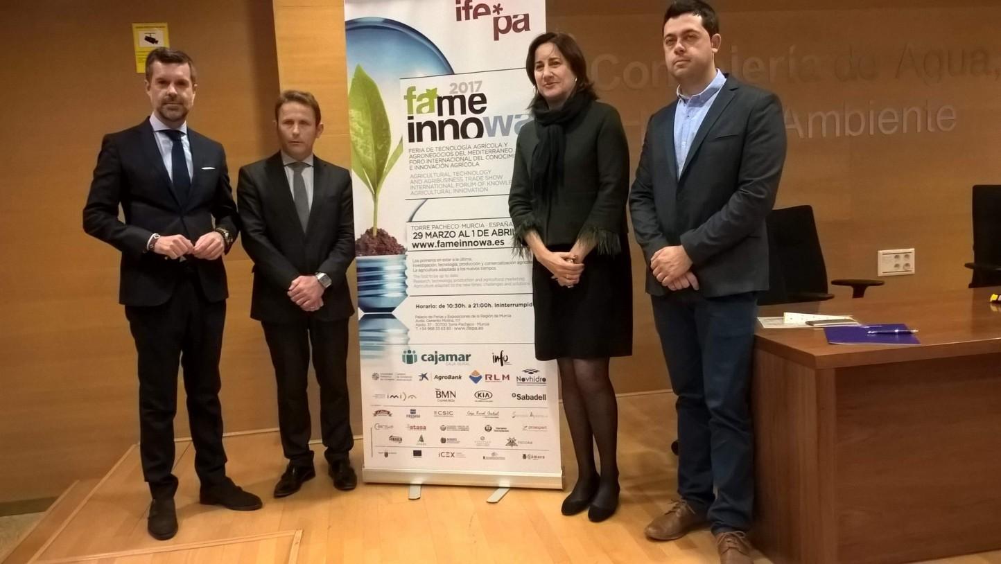 Presentación oficial de FAME Innowa, que se celebra del 29 de marzo al 1 de abril en IFEPA