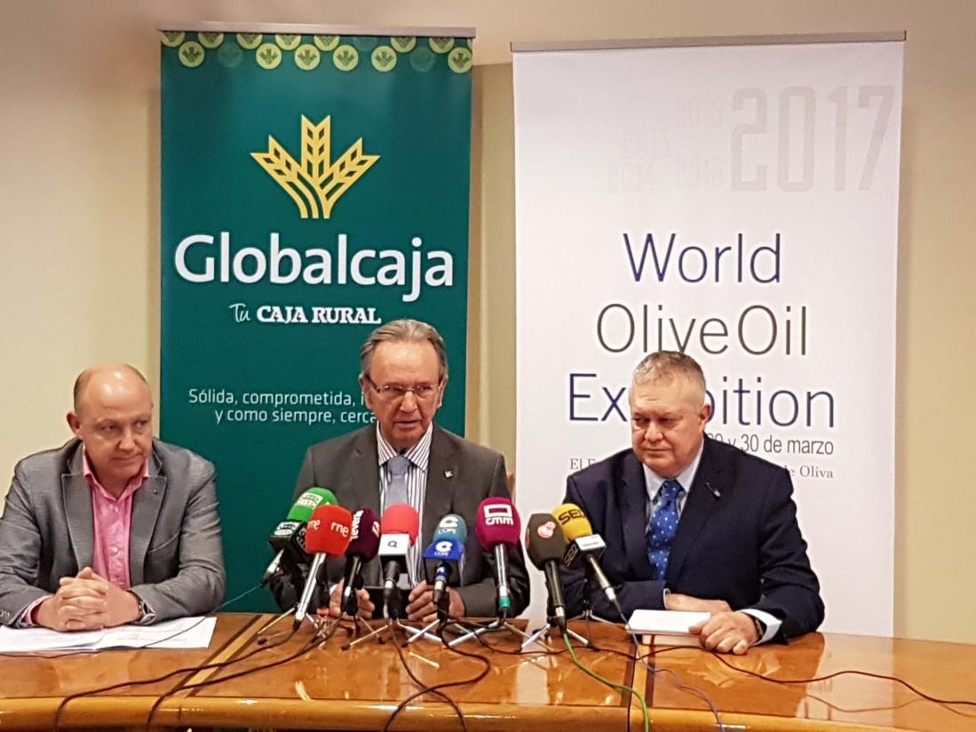 Globalcaja acoge la presentación de la VI edición de la World Olive Oil Exhibition