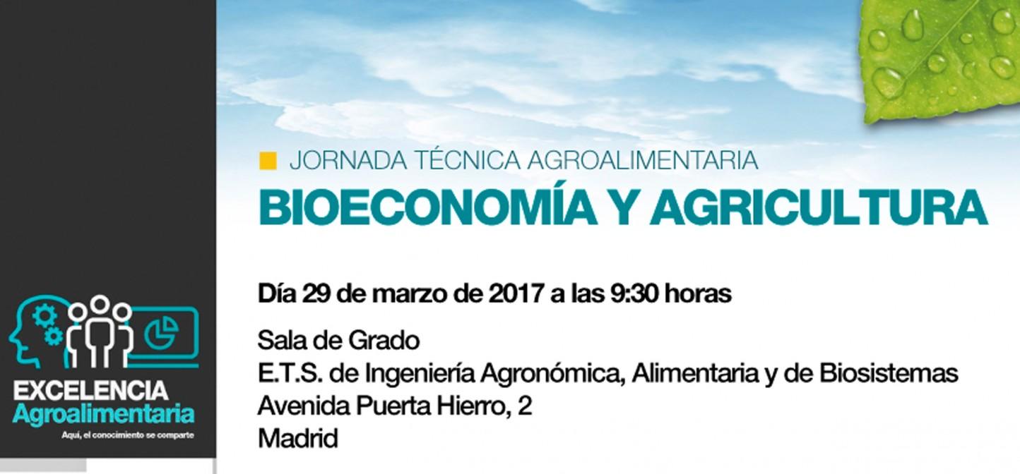 Jornada Técnica Agroalimentaria sobre Bioeconomía y Agricultura