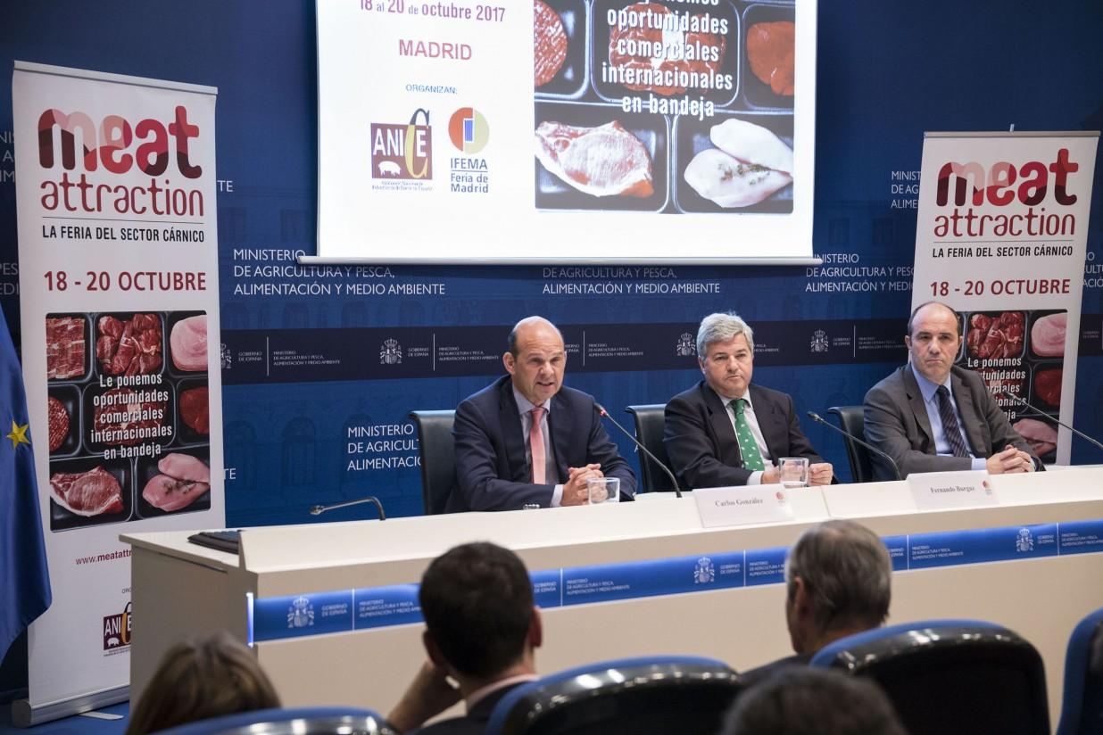 Meat Attraction: una feria para la internacionalización de la industria cárnica de España