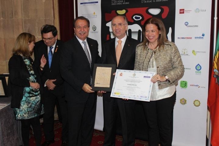 Stihl, galardonada con el premio Prever por su labor en la prevención de riesgos laborales