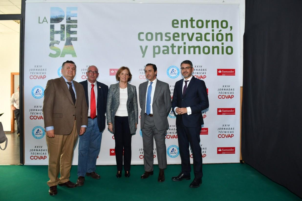 Jornada COVAP: generar estrategias conjuntas para posibilitar la preservación de la dehesa