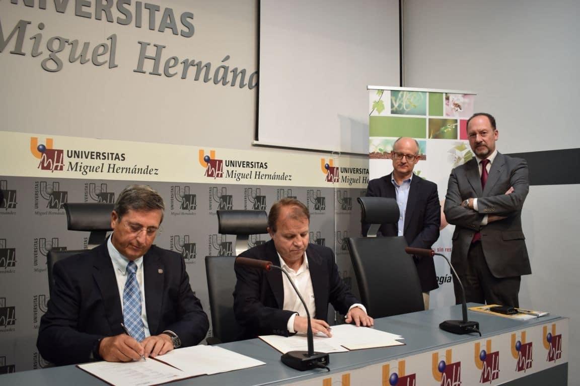 Grupo Agrotecnología y la Universidad Miguel Hernández crean la Cátedra Bioestimulantes Naturales