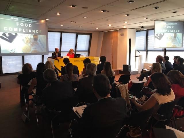 Gómez-Acebo & Pombo Abogados celebra una jornada sobre «Food Compliance»