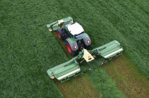Mantenimiento de las segadoras de discos utilizadas en cultivos forrajeros