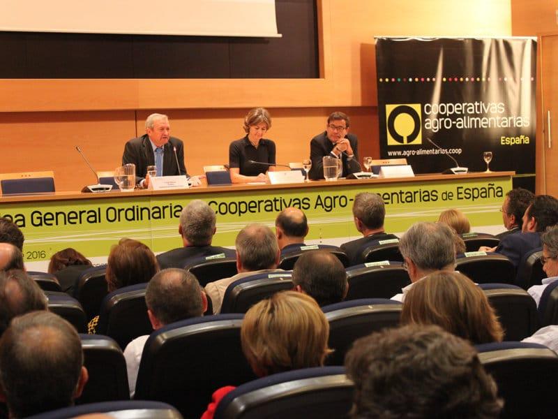 """Jornada sobre """"Cambio Climático y otros retos de sostenibilidad para cooperativas agroalimentarias"""""""