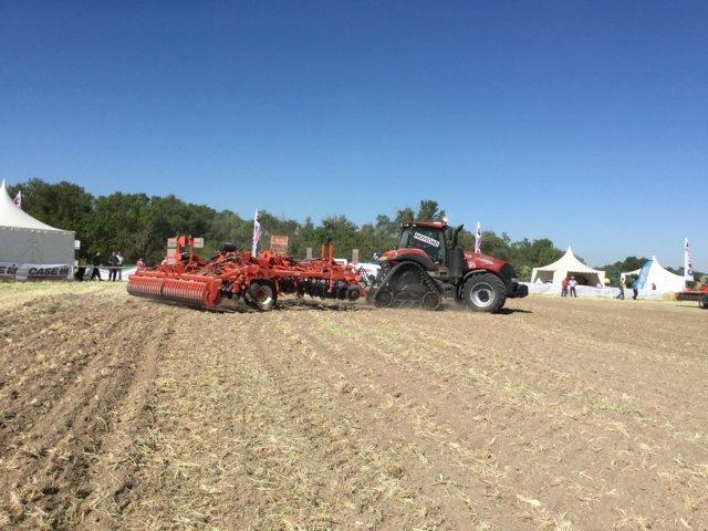 Case IH presenta sus nuevas gamas de tractores en Demoagro 2017