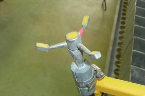 El sistema de agitación de los equipos de aplicación de productos fitosanitarios