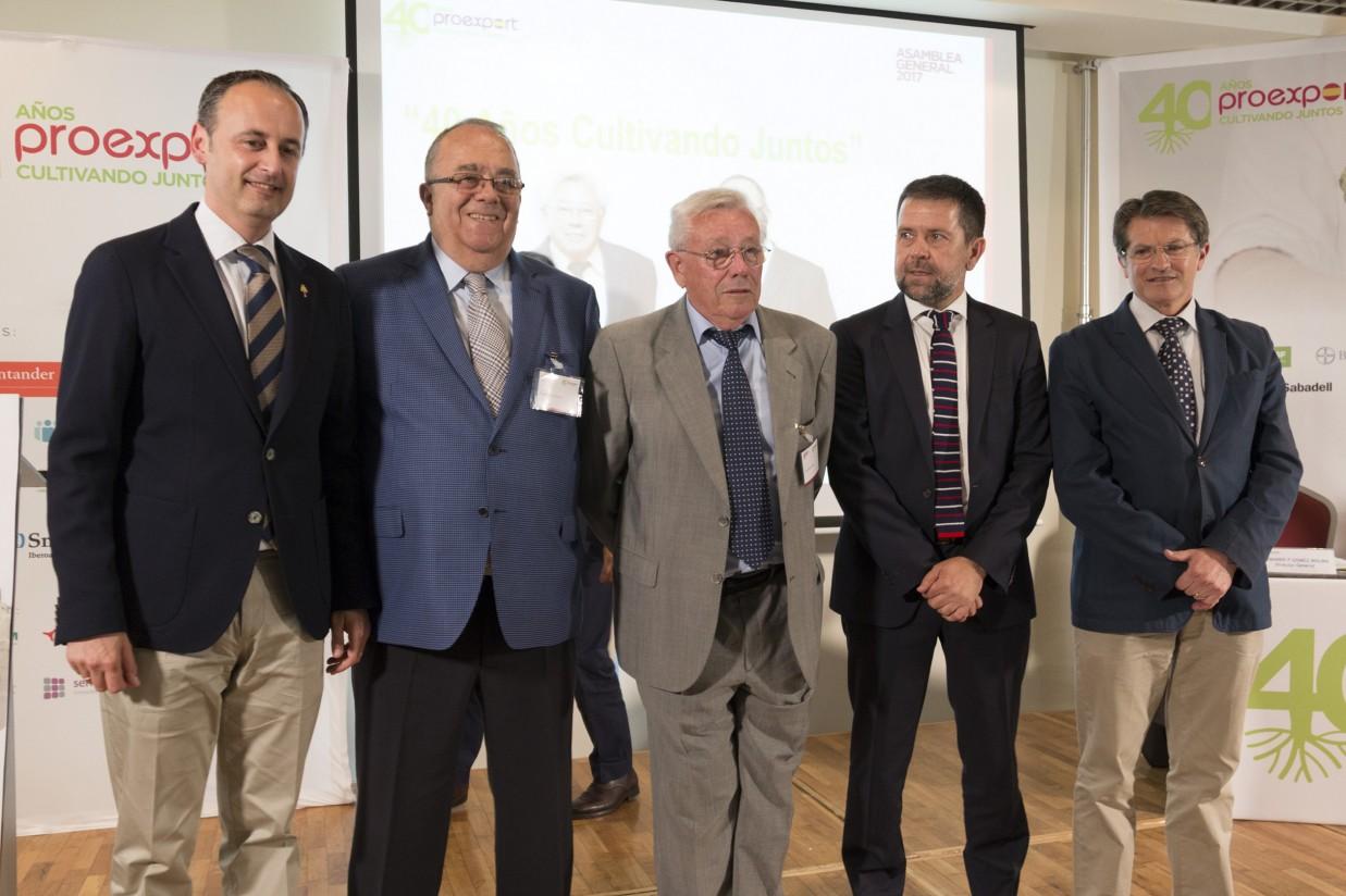Juan Marín, presidente de Proexport: «Seguimos siendo la despensa de Europa»