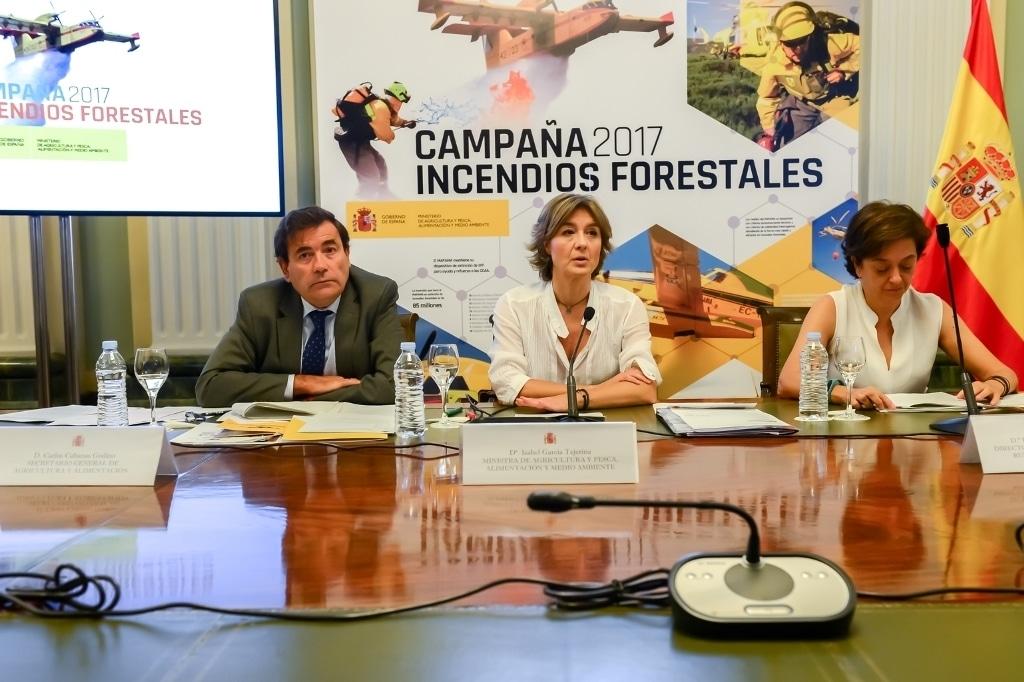 El Mapama destina 85 M€ a la campaña de extinción de incendios forestales de este año