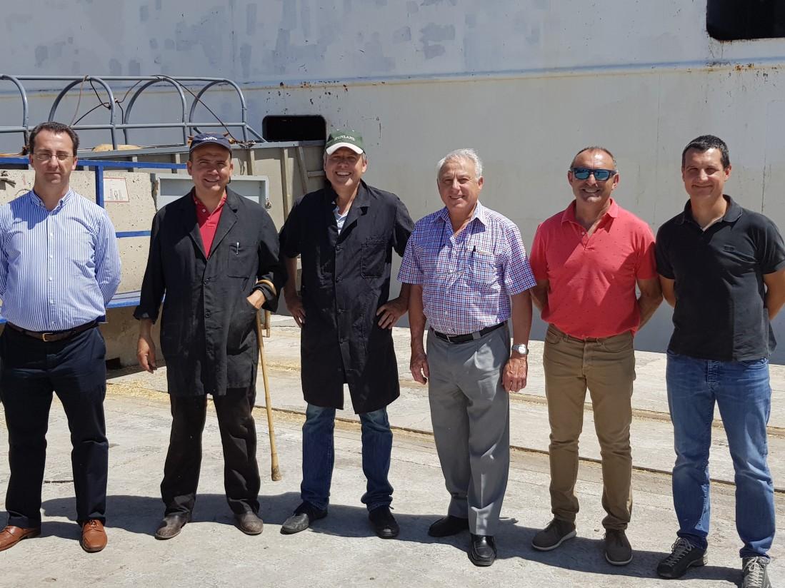 Primera exportación de vacuno de carne a Turquía desde el Puerto de Tarragona