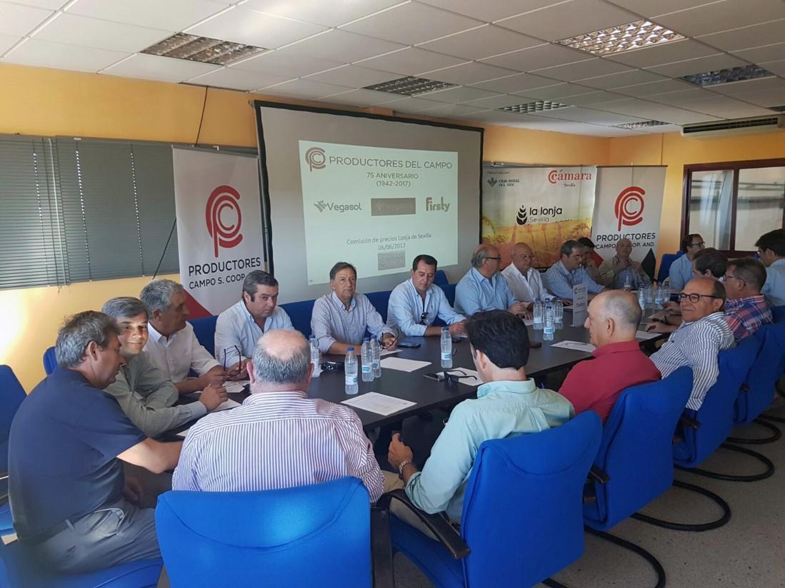 La cooperativa Productores del Campo inicia la celebración de su 75 aniversario