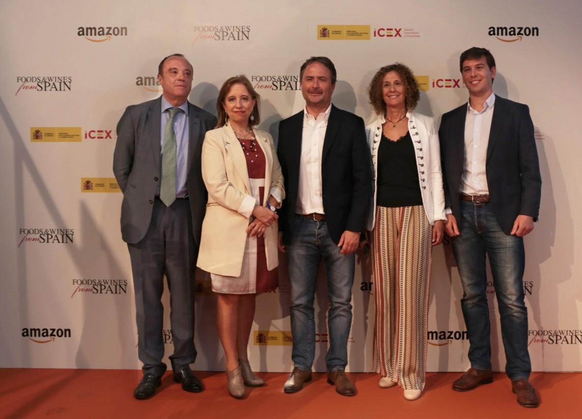 ICEX y Amazon lanzan una tienda online para exportar la gastronomía española