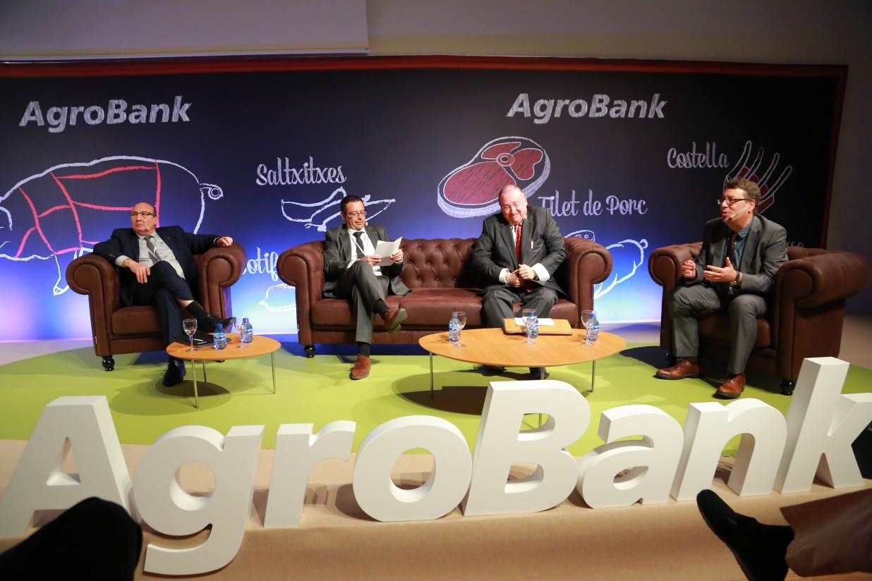 AgroBank celebró en Lleida una jornada sobre el futuro del sector porcino