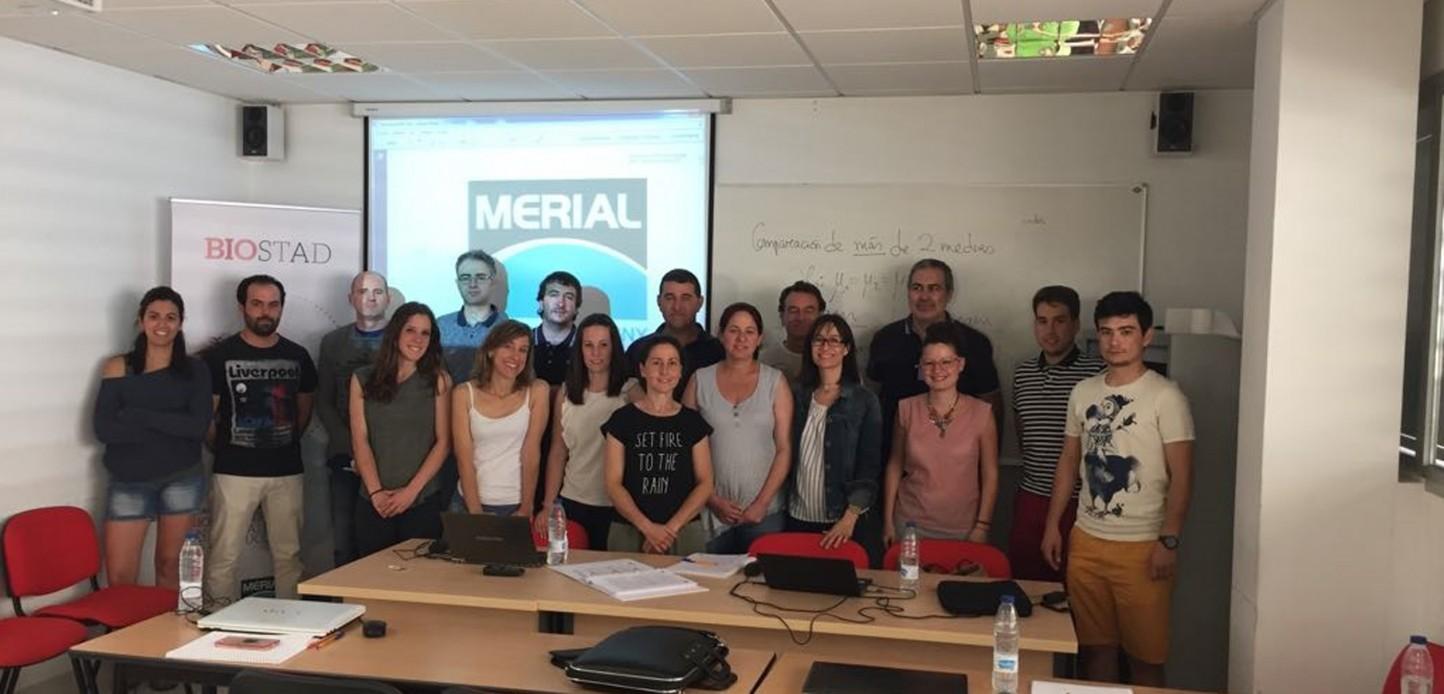 Concluye el curso de Bioestadística de Animales de Producción organizado por Merial