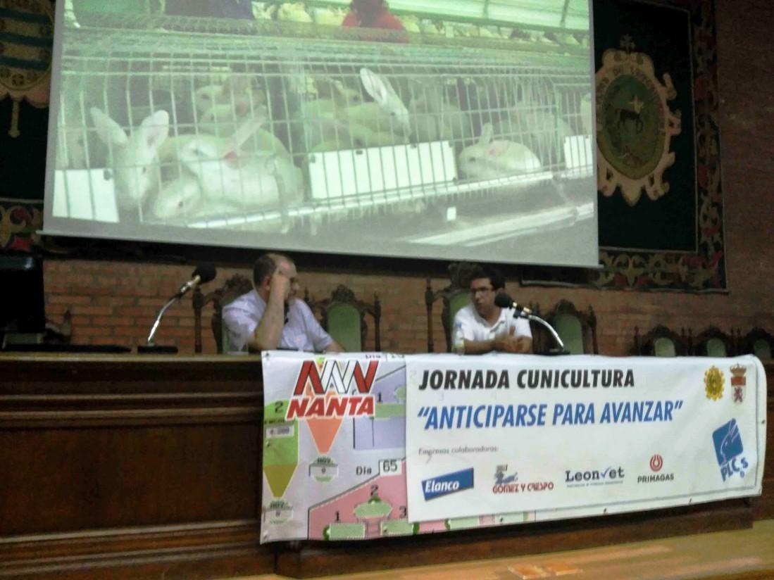 Jornada técnica cunícola organizada por Nanta en León