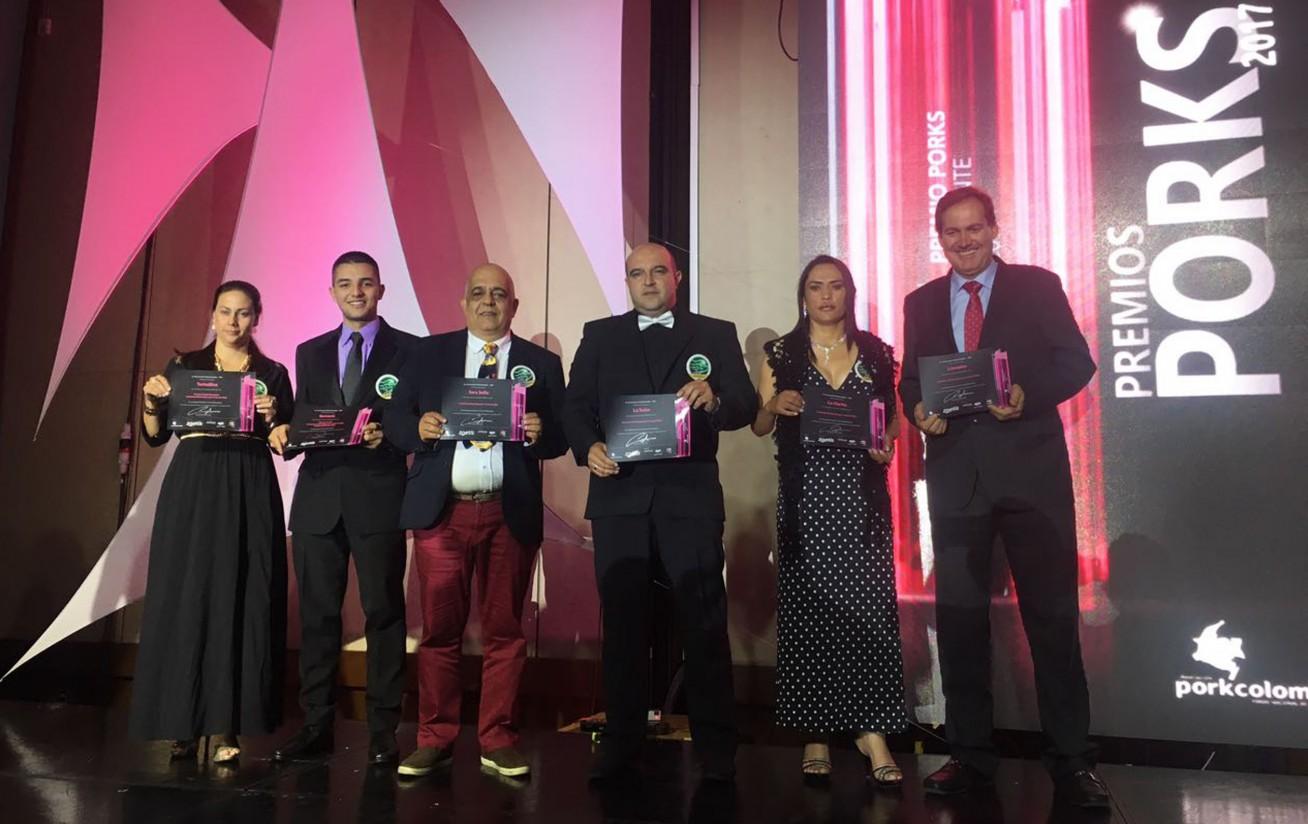 Colombia celebra su primera gala de los premios Porks
