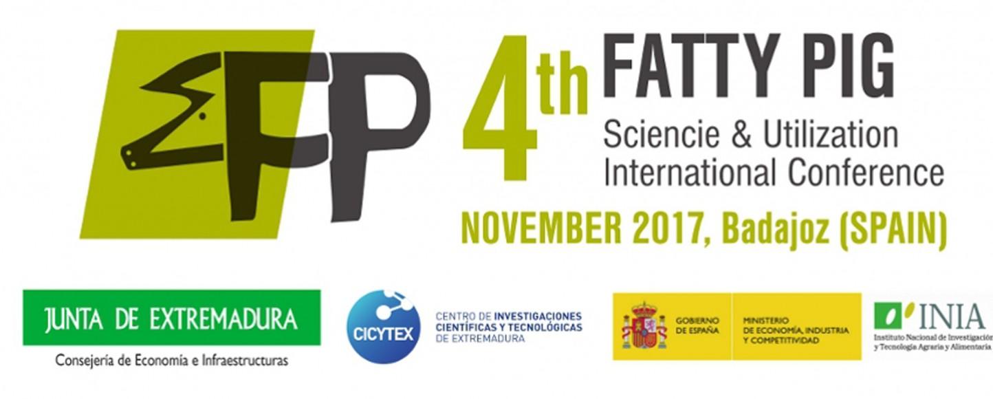 Bajadoz acogerá el IV Congreso Internacional del Cerdo Graso «Fatty Pig»