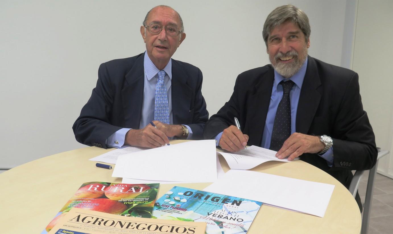 Eumedia y la Fundación Triptolemos firman un acuerdo para impulsar el sistema alimentario