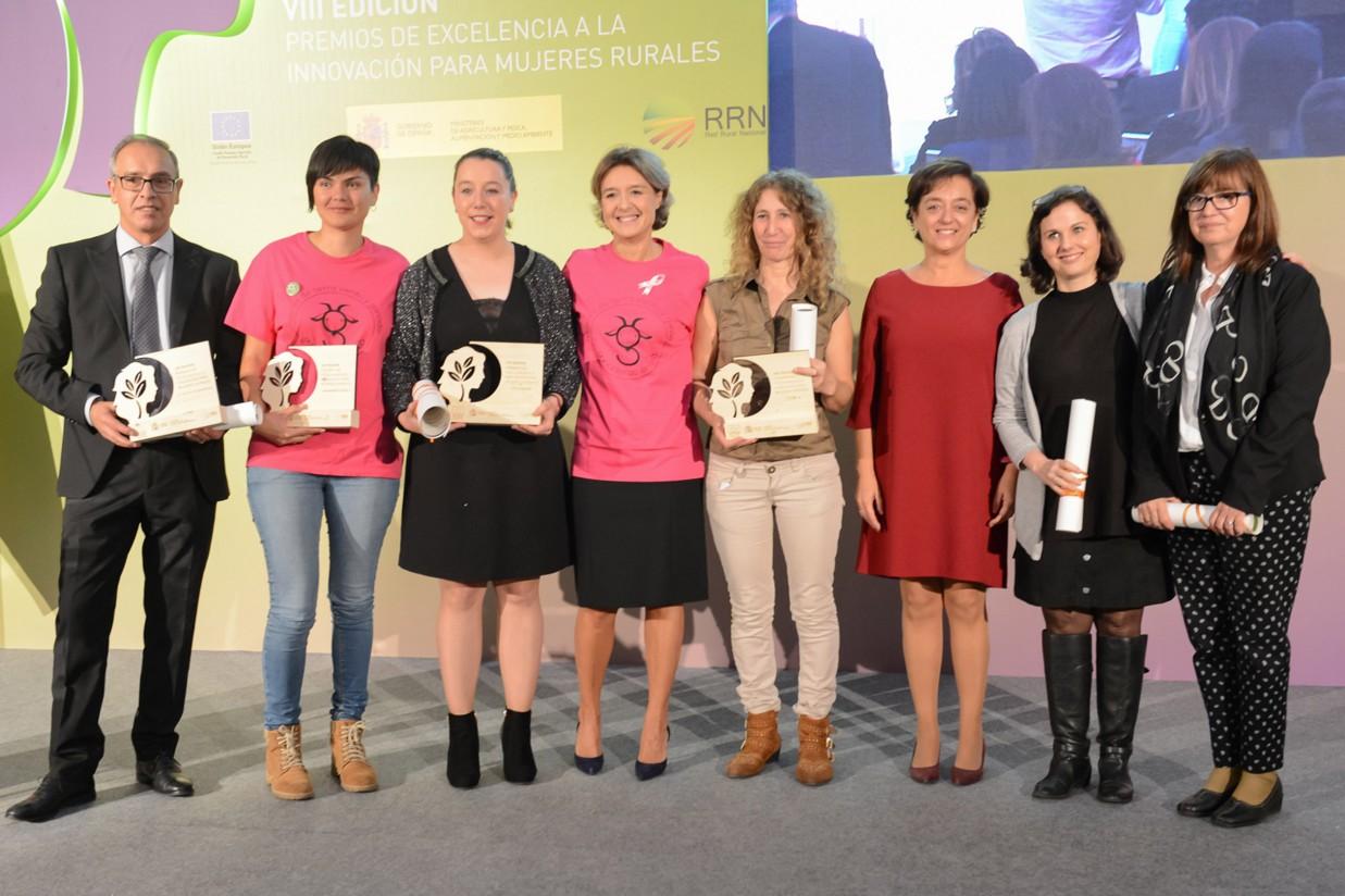 VIII Premios de Excelencia a la Innovación para las Mujeres Rurales