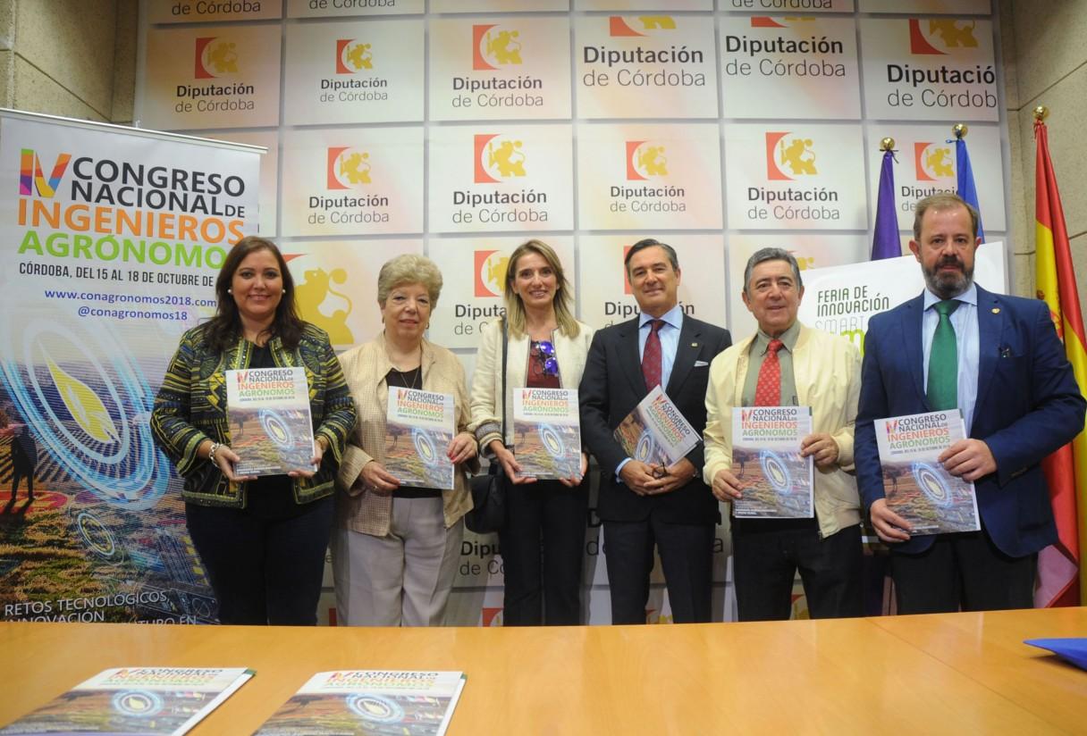 Córdoba acogerá en octubre de 2018 el IV Congreso Nacional de Ingenieros Agrónomos