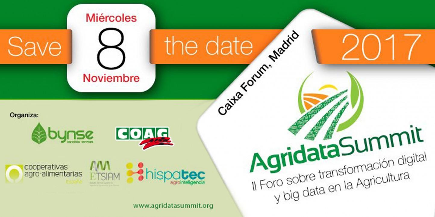 El 8 de noviembre, cita con la transformación digital y bigdata en agricultura
