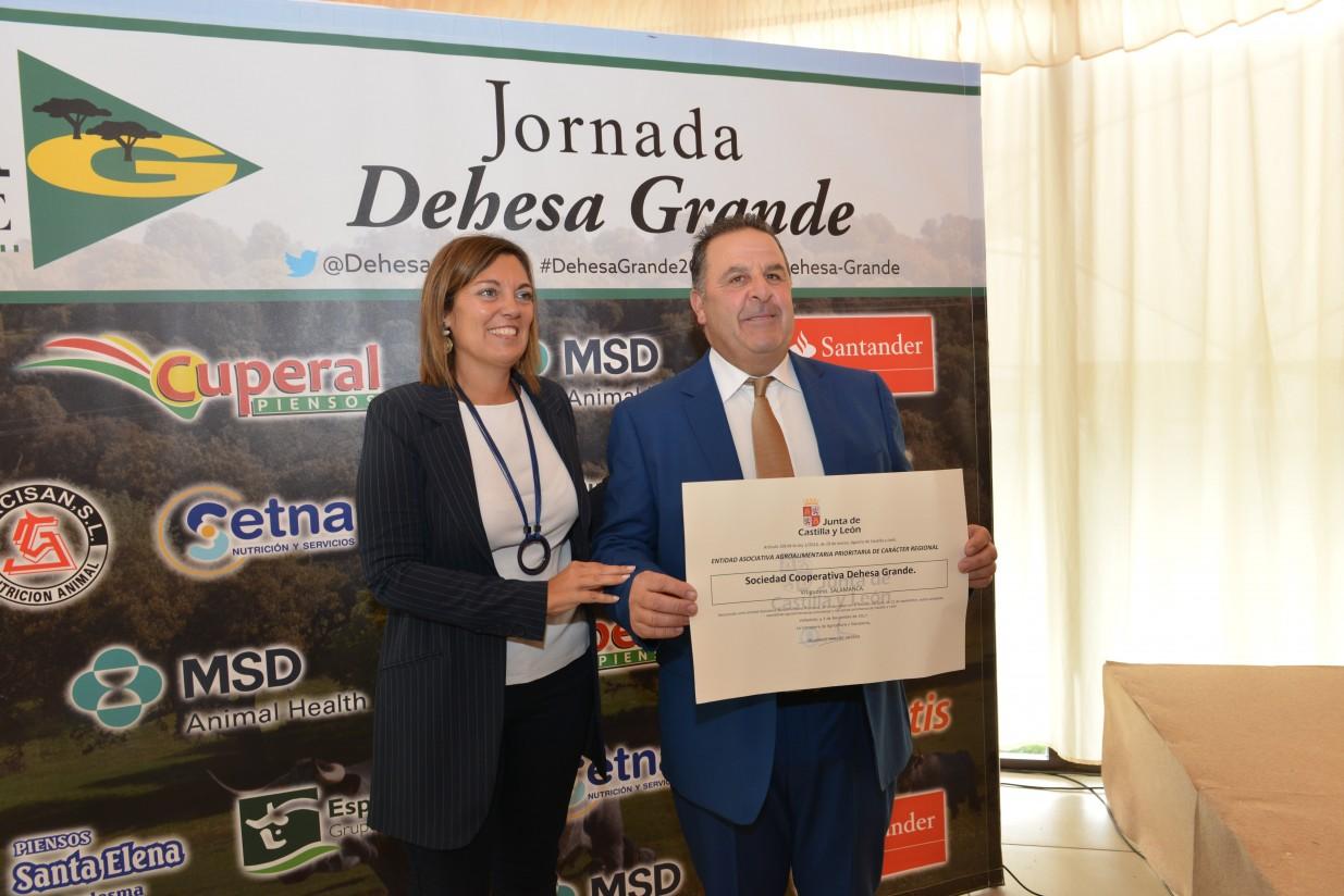 Dehesa Grande, reconocida como sociedad cooperativa prioritaria agroalimentaria de Castilla y León