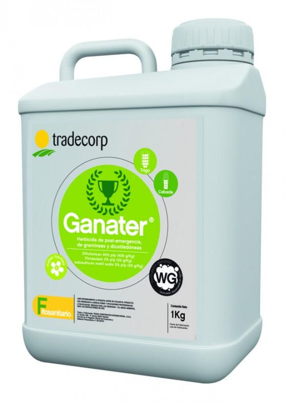 Tradecorp lanza al mercado Ganater, un nuevo herbicida para el control de malas hierbas en cereal