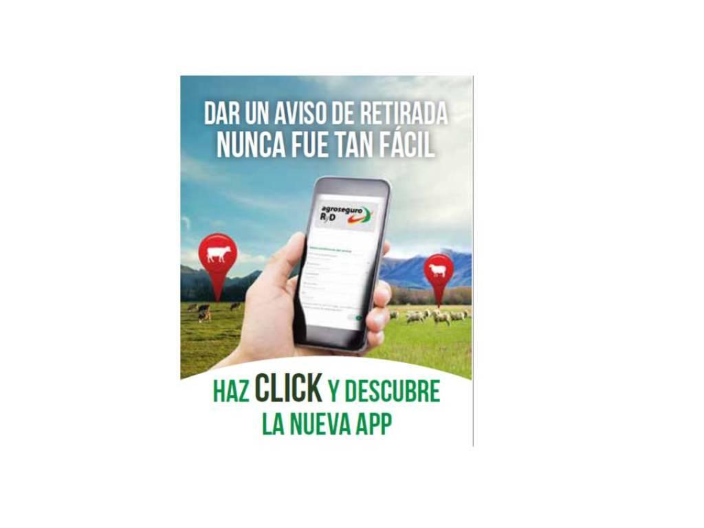 Agroseguro lanza una aplicación móvil de la línea de seguro de retirada de animales muertos