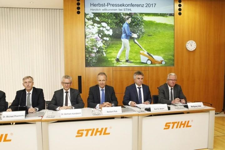 El grupo Stihl registra un incremento de su facturación del 11,9% en los ocho primeros meses del año