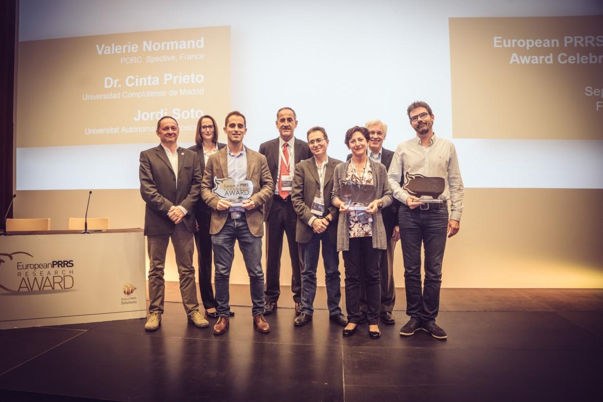Dos proyectos españoles entre los ganadores del Premio Europeo de Investigación en PRRS 2017