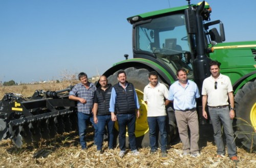 Grada rápida AG600R de AG-Group, un trabajo óptimo aun en condiciones difíciles