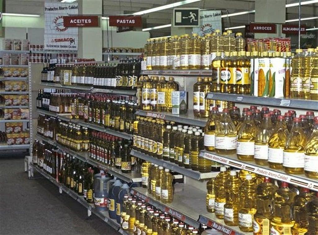 Las ventas interiores de aceites comestibles bajaron un 4,6% en 2017 por la caída del aceite de oliva