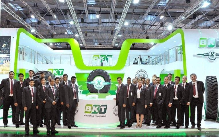 Las gamas de neumáticos BKT presentes en FIMA 2018