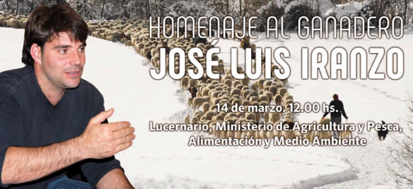 Homenaje al ganadero y pastor aragonés José Luis Iranzo