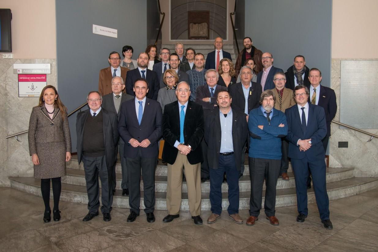La Universidad de Lleida acoge la reunión del Patronato de la Fundación Triptolemos