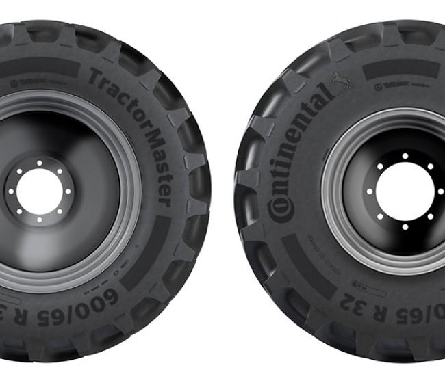 Los neumáticos Continental TractorMaster, homologados como equipo original por Case IH